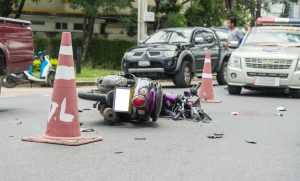 Motor Scooter Accident